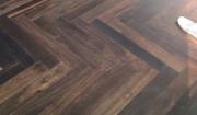 Công trình sàn gỗ chiu liu kiểu xương cá tại chung cư The Manor Mỹ Đình