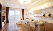 lựa chọn sàn gỗ cho nhà căn góc