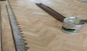 Công trình sàn gỗ Sồi lắp kiểu xương cá