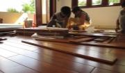 Các bước thi công lắp đặt sàn gỗ tự nhiên