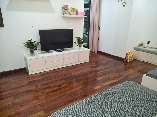 Sàn gỗ giáng hương 15 x 90 x 450mm