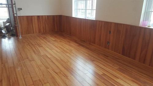 Sàn gỗ gõ đỏ