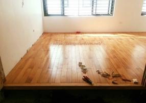 Sàn gỗ Gõ 15 * 90 * 1050mm