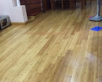 Công trình sàn gỗ Tre M01 tại Hà Đông